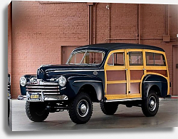 Постер Ford Super Deluxe Station Wagon by Marmon-Herrington '1946