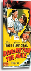 Постер Film Noir Poster - Deadlier Than The Male