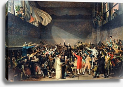 Постер Давид Жак Луи The Tennis Court Oath, 20th June 1789, 1791 2
