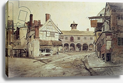 Постер Варлей Джон Market Place, Hereford, 1803