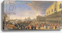 Постер Карлеварис Лука Arrival of the Comte Languet de Gergy at the Palazzo Ducale, Venice, November 1726