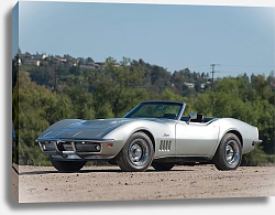 Постер Chevrolet Corvette L68 427 400 Convertible (С3) '1969