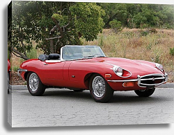 Постер Jaguar E-Type Roadster (Series II) '1968–71