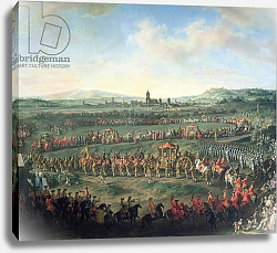 Постер Мейтенс Мартин The Entrance of Emperor Francis I into Frankfurt, accompanied by Joseph II