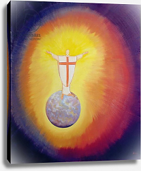 Постер Ванг Элизабет (совр) Jesus Christ is our High Priest who unites earth with Heaven, 1993