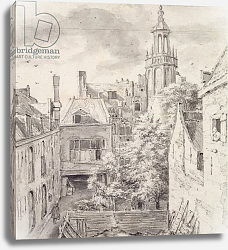 Постер Русдал Якоб View of the Courtyard of the House of the Archers in Amsterdam