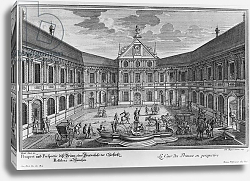 Постер Дизель Мэттью Palace at Munich, Germany, engraved by Johann August Corvinus