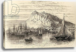 Постер Школа: Английская 19в. Alicante, Spain, from 'Spanish Pictures' by Reverend Samuel Manning, published in 1870