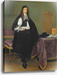 Постер Терборх Герард Portrait of a Man, c.1660