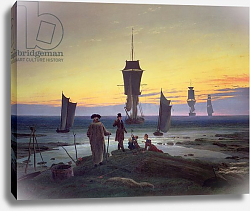 Постер Фридрих Каспар (Caspar David Friedrich) The Stages of Life, c.1835