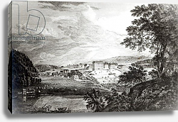 Постер Сэндби Поль A View of Bethlem the Great Moravian Settlement in Pennsylvania, 1768