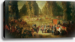Постер Одри Жан-Батист Meeting for the Puits-du-Roi Hunt at Compiegne