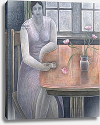 Постер Эдиналл Рут (совр) Woman with Small Cup, 2007