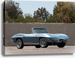Постер Corvette Sting Ray Convertible (C2) '1963