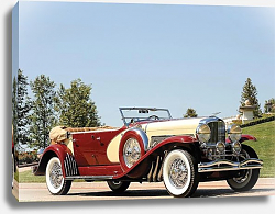 Постер Duesenberg SJ Phaeton by LaGrande-Union City '1933