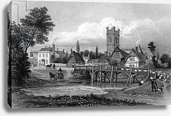Постер Байнс Томас Easton, near Great Dunmow, Essex, engraved by Henry Adlard, 1832