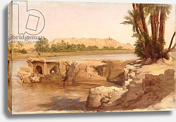 Постер Лейтон Фредерик On the Nile, 1868