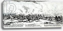 Постер Калло Жак The Battle, plate 3 from 'The Miseries and Misfortunes of War', engraved by Israel Henriet 1633