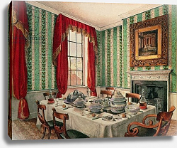 Постер Бест Мари Our Dining Room at York, 1838