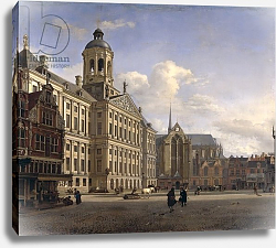 Постер Хейден Ян The New Town Hall, Amsterdam, 1668