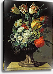 Постер Джуел Йенс Still Life with Flowers, 1764