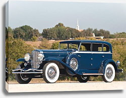 Постер Duesenberg J 187 Clear Vision Sedan by Murphy '1929
