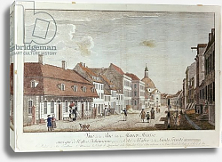 Постер Розенбург Йоханн Джордж View of Mauer Strasse, Berlin, 1776