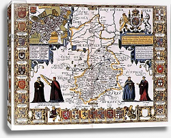 Постер Спид Джон Cambridgeshire, 1611-12