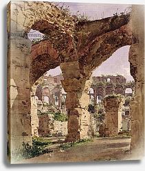 Постер Альт Рудольф The Colosseum, Rome, 1835