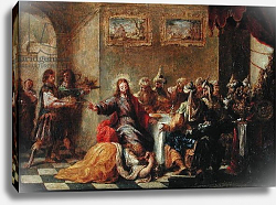 Постер Вальдес Леаль Christ in the House of Simon the Pharisee, 1660
