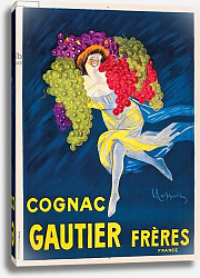 Постер Капиелло Леонетто An advertising poster for Gautier Freres cognac, 1907