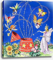 Постер Бласко Джизус (дет) Fairy Candle, illustration from 'Teddy Bear', 1968