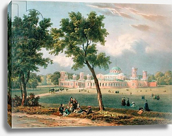 Постер Адам Виктор (грав) The Peter the Great Palace in Moscow, published Paris, 1840s