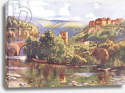 Постер Брюль Луи On the River Tagus, from Hutchinson's Picturesque Europe published by Hutchinson & Son, c.1930