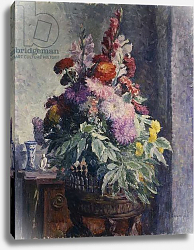 Постер Лебаск Анри Interior with Bouquet of Flowers; Interieur au Bouquet de Fleurs,