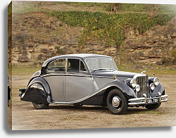 Постер Jaguar Mark V Saloon '1948–51