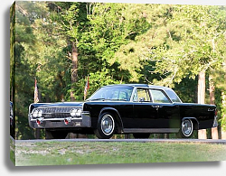 Постер Lincoln Continental ''Bubbletop'' Kennedy Limousine '1962