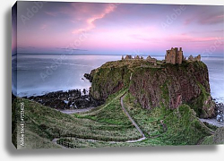 Постер Шотландия. Dunnottar Castle in Scotland