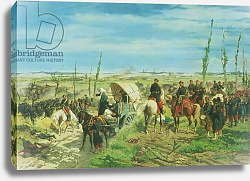 Постер Фаттори Джованни The Italian Camp at the Battle of Magenta, June 1859