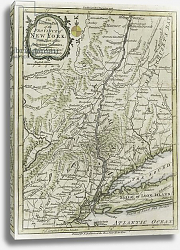 Постер The southern part of the Province of New York, with part of the adjoining colonies, 1778