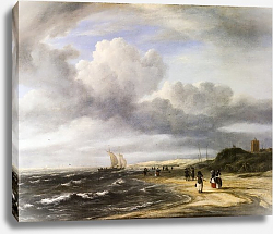 Постер Рейсдал Якоб The Shore at Egmond-aan-Zee
