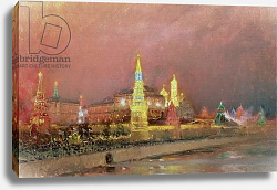 Постер Гриценко Николай Illumination in the Kremlin, 1896