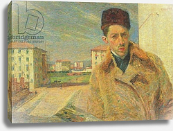 Постер Бочиони Умберто Self Portrait, 1908