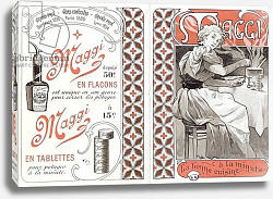 Постер Муха Альфонс Advertisement for Maggi, late 19th century