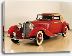 Постер Mercedes-Benz 500K Drophead Coupe by Corsica '1936