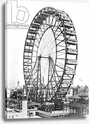 Постер Американский фотограф The ferris wheel at the World's Columbian Exposition of 1893 in Chicago