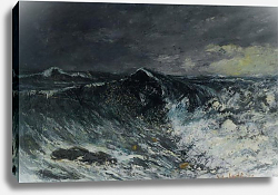 Постер Курбе Гюстав (Gustave Courbet) La Vague