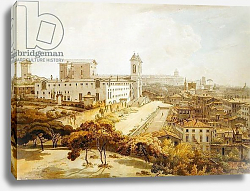 Постер Парс Уильям A View of Rome taken from the Pincio, 1776