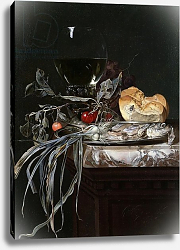 Постер Алст Виллем Still Life with Fish Platter 2