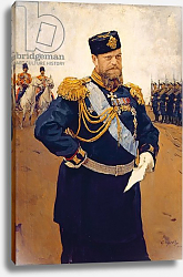Постер Серов Валентин Portrait of Tsar Alexander III, 1900
